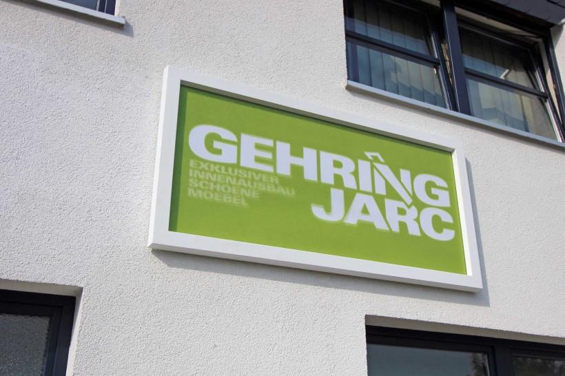 Gehring Jarc Firmenschild