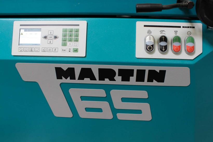 Neue Formatkreissäge 'Martin T65'